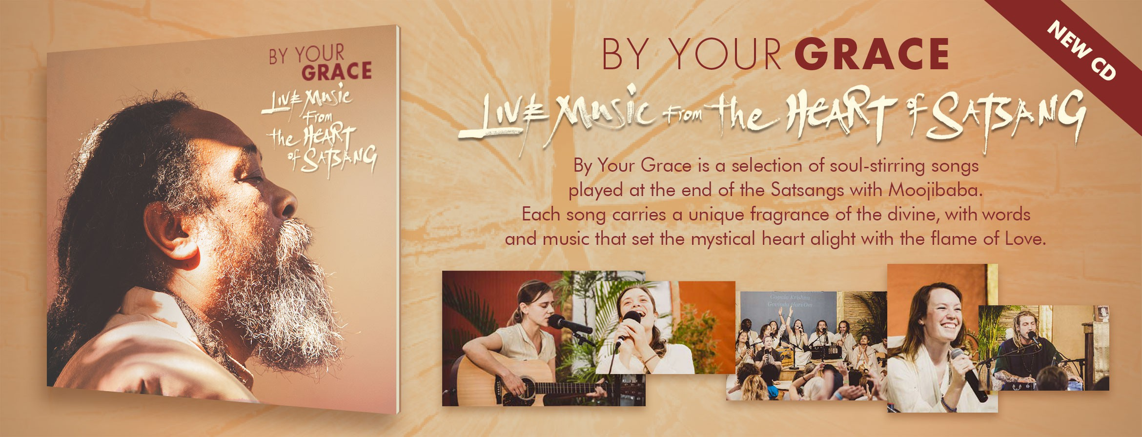 Mooji Sangha, By Your Grace. Live Music from the Heart of Satsang